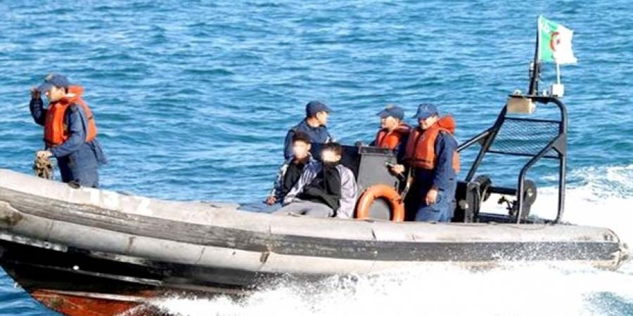 renversement embarcation Cap Djinet