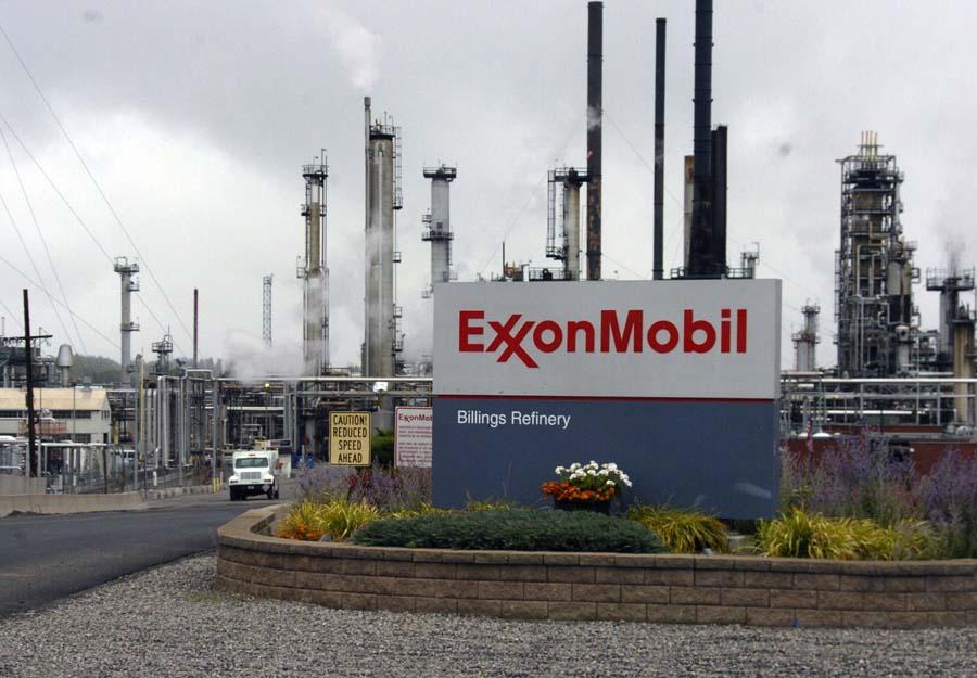 hydrocarbures Exxonmobil