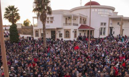 Grande manifestation de la population de Jerada : «Mourir que vivre humilié»