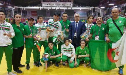 Championnats d'Afrique de lutte : 26 médailles pour les Algériens au troisième jour de la compétition