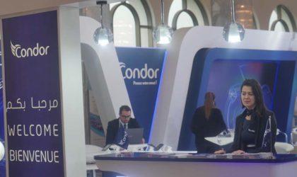 Condor présente ses offres et nouveautés auSalon Maghreb Mobile