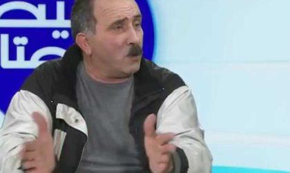 Ali Zaoui, un ancien militaire, menace Naïma Salhi