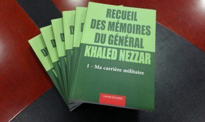 L'édition revue des mémoires du général Khaled Nezzar bientôt dans les librairies