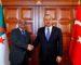 Messahel s'entretient à Ankara avec son homologue turc