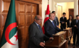 Conférence de presse des ministres algérien et turc des Affaires étrangères