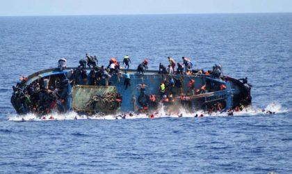 OIM: quelque 90 migrants portés disparus dans un naufrage près des côtes libyennes
