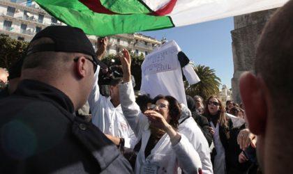 Les médecins résidents bravent l'interdit et marchent à Alger