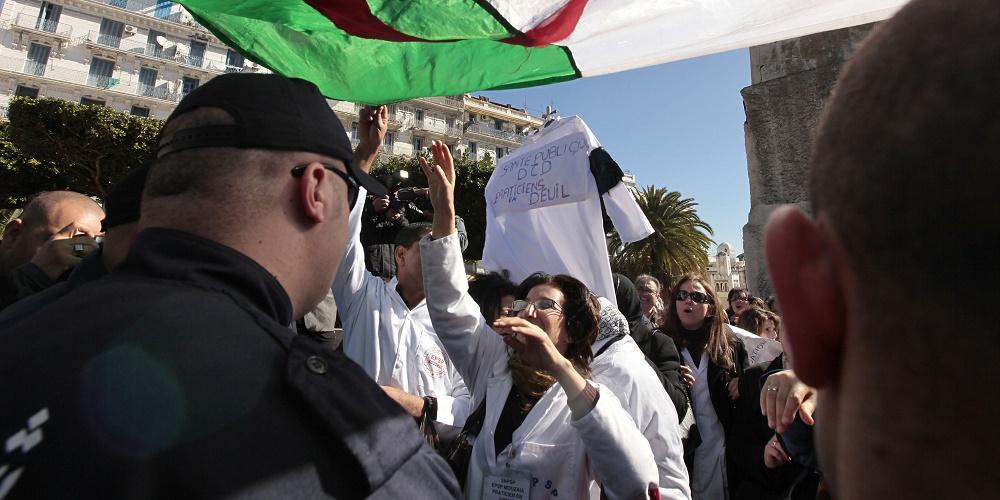résidents marche Alger revendications