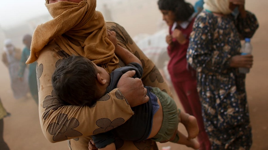Syrie réfugiés