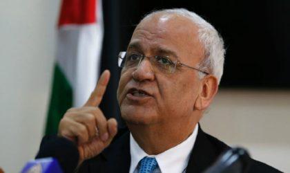 Saeb Erekat: «Le vrai président des Palestiniens est Avigdor Lieberman»