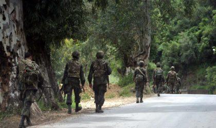 Reddition d'un terroriste en possession de deux pistolets mitrailleurs à Tamanrasset