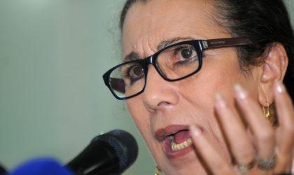 Louisa Hanoune prévient contre une violente révolte sociale