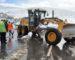 Intervention de détachements de l'ANP pour l'ouverture de routes bloquées par la neige