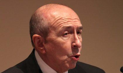 Collomb à propos des Algériens assassinés en France : «L'enquête prendra du temps»