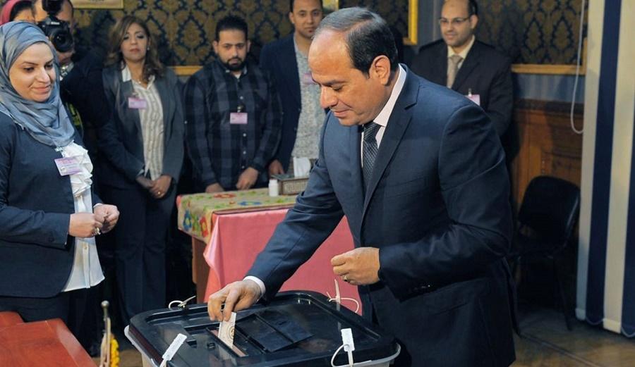 Egypte élection présidentielle Al-Sissi