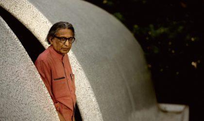 Une distinction pour Balkrishna Doshi, architecte indien disciple de Le Corbusier