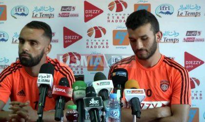 USM Alger: rétabli, Bouderbal réintègre le groupe