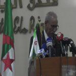 Brahim Ghali RASD Front Polisario Algérie