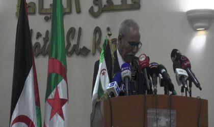 Le discours du SG du Front du Polisario Brahim Ghali à la 6e Conférence