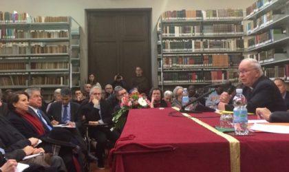 Mgr Teissier à Rome : hommage aux 19 religieux tués et à la lutte des Algériens
