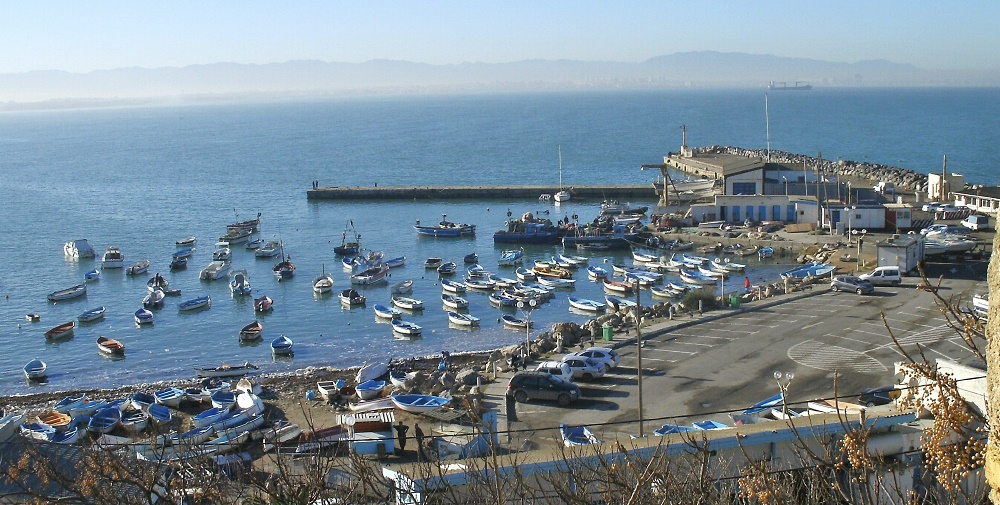 mauvais temps ports d'Alger