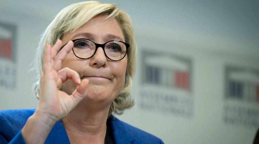 Marine Le Pen Collomb Lakdim