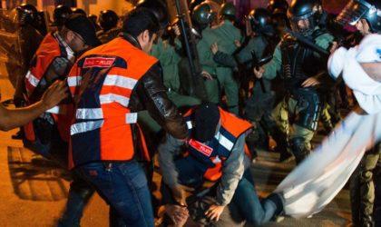 L'horreur au Maroc: des fourgons de police écrasent les manifestants