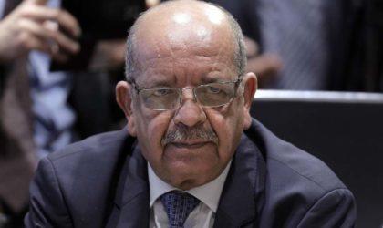 Messahel : l'idéologie et la propagande terroristes restent «vivaces» et «mobilisent toujours»