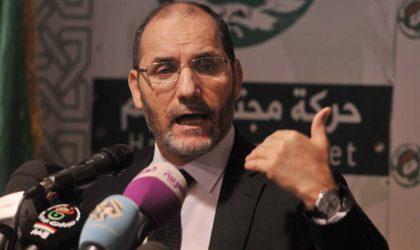 Abderrezak Mokri: «Je suis candidat à la présidentielle de 2019!»