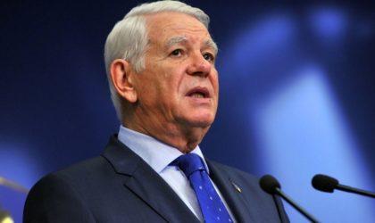 Le ministre roumain des Affaires étrangères entame une visite officielle en Algérie