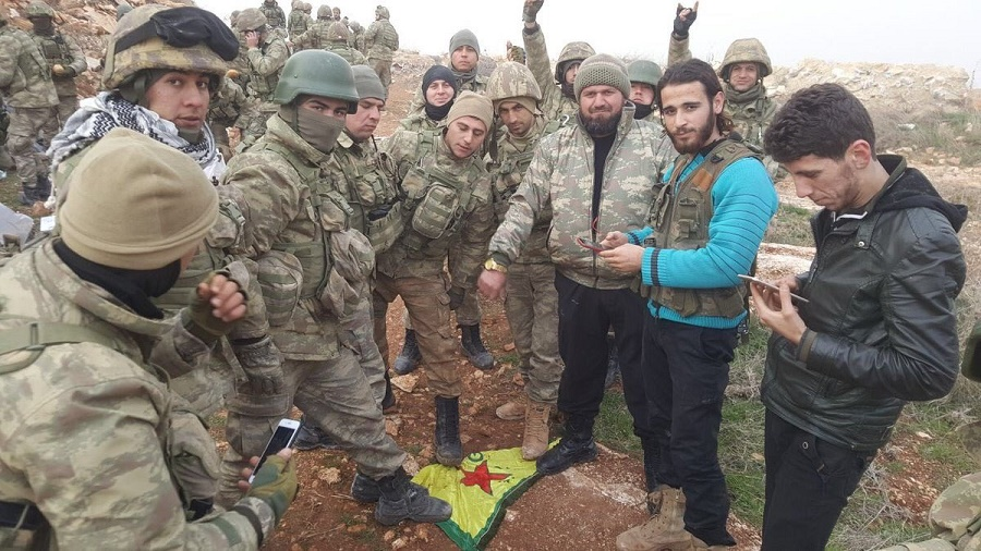 Turquie, milices syriennes, YPG, Daech