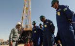 Marche des travailleurs de la Sonatrach à Hassi R'Mel