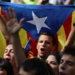 catalans manifestants