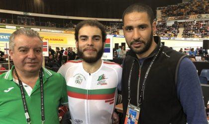 Le cycliste algérien Yacine Chalel: «Heureux de décrocher mon premier Top 10 en 2018»
