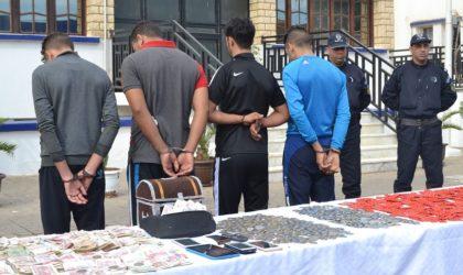 DGSN: 81 malfaiteurs et contrebandiers interpellés dans plusieurs wilayas