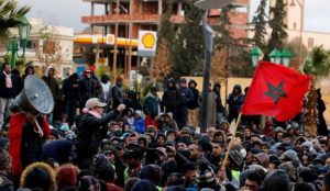 jerada manifestation Maroc police