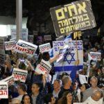manifestation Tel-Aviv Natanyahu