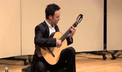 Le guitariste espagnol David Martinez donne deux concerts à Alger