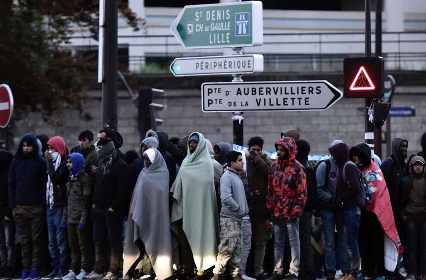 migrants réfugiés
