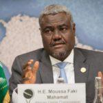 président de la Commission de l'Union africaine Moussa Faki Mahamat visite Algérie