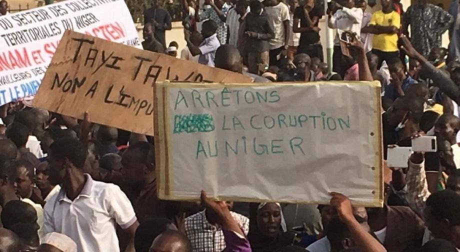 Niger manifestation loi de finances de 2018
