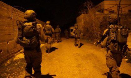 Arrestations de 15 Palestiniens en Cisjordanie par les forces d'occupation
