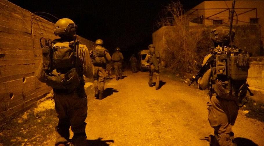palestine cisjordanie arrestations