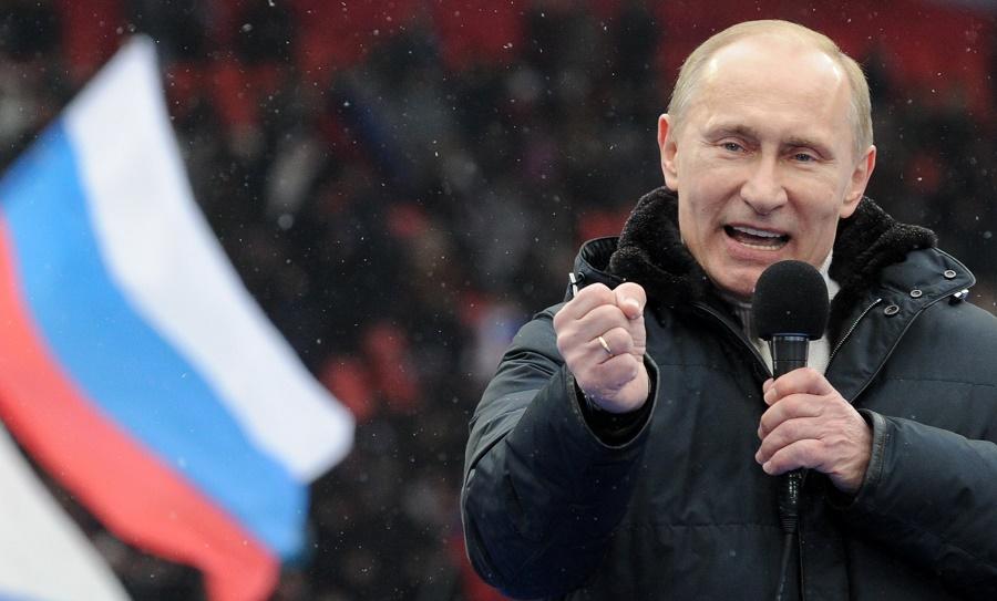 Russie élection présidentielle Poutine