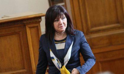 Messahel reçu à Sofia par la présidente de l'Assemblée nationale bulgare