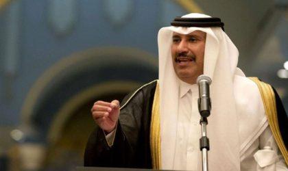 Hamad Ben Jassem Al-Thani : «Le Qatar a participé au rapprochement entre Palestiniens et Israéliens»