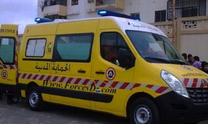 Oum El-Bouaghi : 2 morts par électrocution dans une usine de fabrication de briques