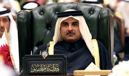 Pitoyable Qatar