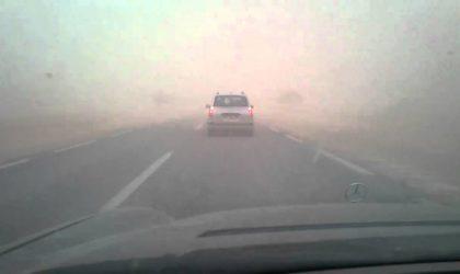 BMS: des vents avec soulèvement de sable souffleront sur le sud du pays