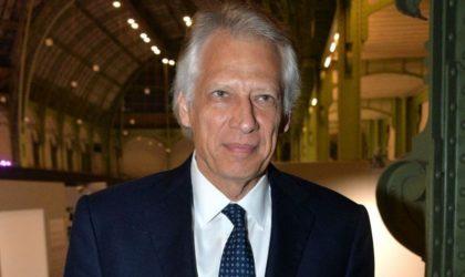 De Villepin et l'Algérie : un homme de bonne volonté mais mal éclairé
